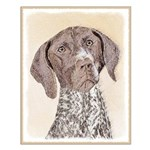 German Shorthaired Pointer Small Poster