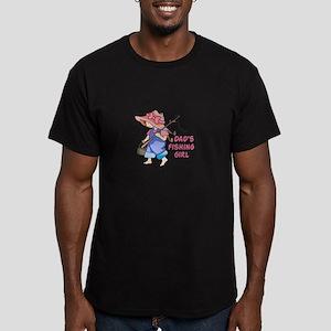 DADS FISHING GIRL T-Shirt