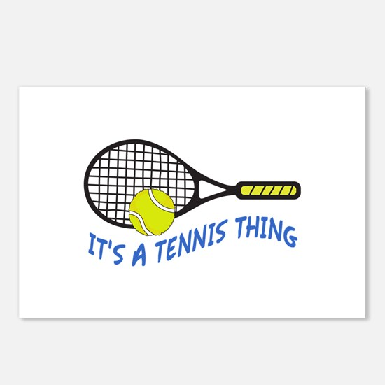 ITS A TENNIS THING Postcards (Package of 8)