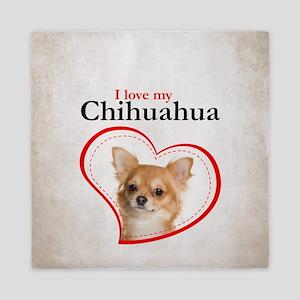 Chihuahua Queen Duvet