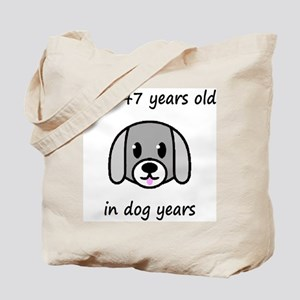 21 dog years 2 Tote Bag