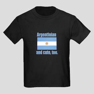 Argentinian & Cute Kids Dark T-Shirt