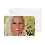 US Blonde American Beaut Greeting Cards (Pk of 20)