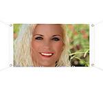 US Blonde American Beauty Banner