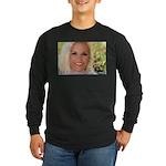 US Blonde American Beauty Long Sleeve Dark T-Shirt