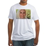 US Blonde American Beauty Fitted T-Shirt