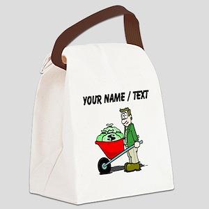Wheelbarrow Of Money (Custom) Canvas Lunch Bag