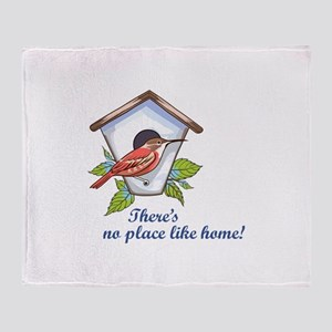 NO PLACE LIKE HOME! Throw Blanket