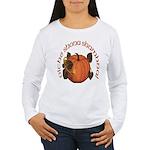 Gaelic Harvest Pumpkin Women's Long Sleeve T-Shirt