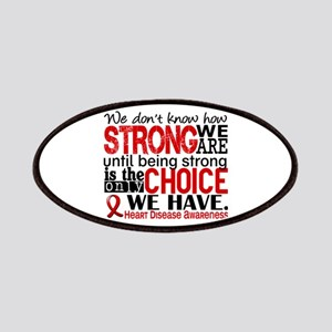 Heart Disease How Strong We Are Patch