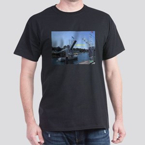 drawbridge in Perkins Cove, Maine T-Shirt