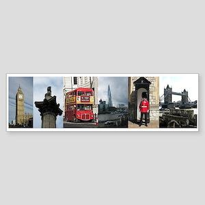 London Sights Sticker (Bumper)