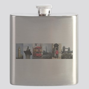 London Sights Flask