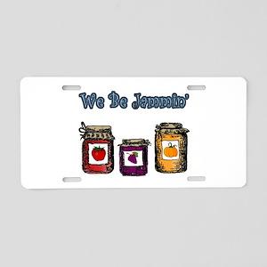 We Be Jammin' Aluminum License Plate