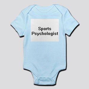 Sports Psychologist Retro Digital Job De Body Suit