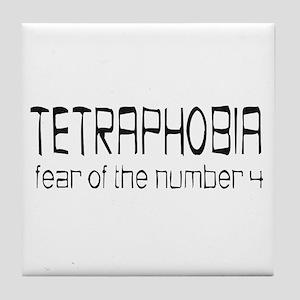 Fear Of Four Tile Coaster