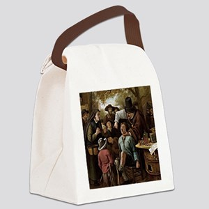 The Tooth Puller - Jan Steen Canvas Lunch Bag