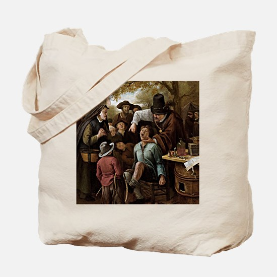 The Tooth Puller - Jan Steen Tote Bag