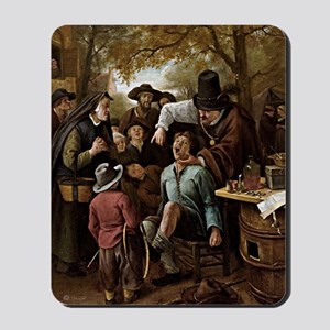 The Tooth Puller - Jan Steen Mousepad