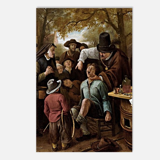 The Tooth Puller - Jan St Postcards (Package of 8)