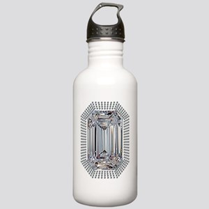Diamond Pin Stainless Water Bottle 1.0L