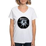 Warriors of the Net Women's V-Neck T-Shirt