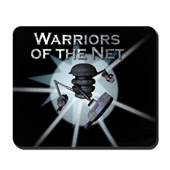 Warriors of the Net Mousepad