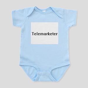 Telemarketer Retro Digital Job Design Body Suit