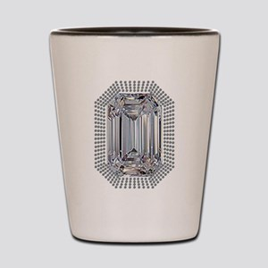 Diamond Pin Shot Glass