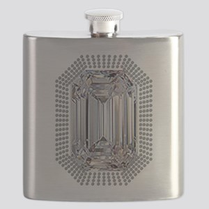 Diamond Pin Flask