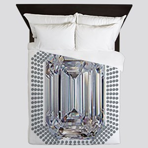 Diamond Pin Queen Duvet