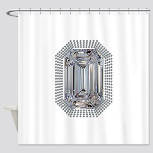 Diamond Pin Shower Curtain