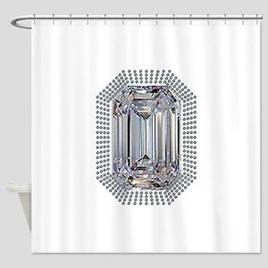 Diamond Pin Shower Curtain