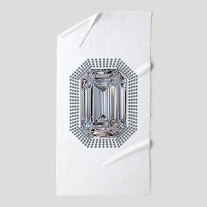 Diamond Pin Beach Towel
