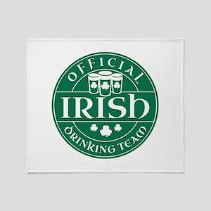 Official Irish Drinking Team Stadium Blanket