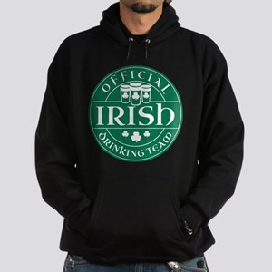 Official Irish Drinking Team Hoodie (dark)