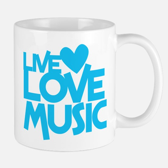 LIVE LOVE MUSIC Mugs