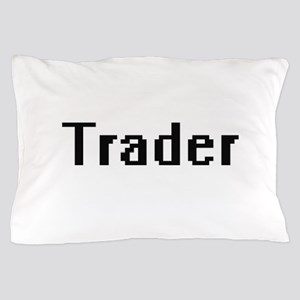 Trader Retro Digital Job Design Pillow Case