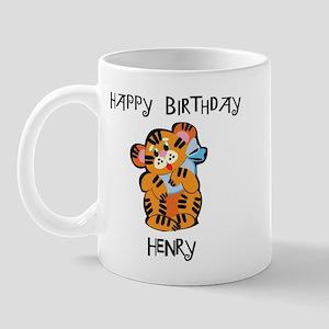 Happy Birthday Henry (tiger) Mug
