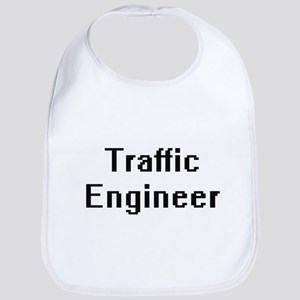 Traffic Engineer Retro Digital Job Design Bib