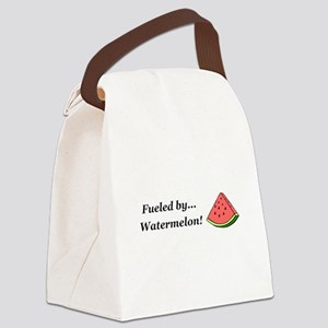 Fueled by Watermelon Canvas Lunch Bag