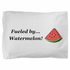 Fueled by Watermelon Pillow Sham