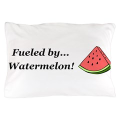Fueled by Watermelon Pillow Case