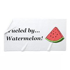 Fueled by Watermelon Beach Towel