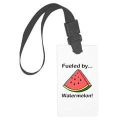 Fueled by Watermelon Luggage Tag