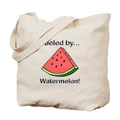 Fueled by Watermelon Tote Bag