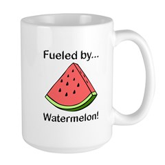 Fueled by Watermelon Large Mug
