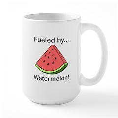 Fueled by Watermelon Large Mug