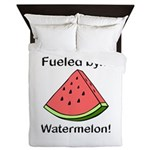 Fueled by Watermelon Queen Duvet
