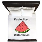 Fueled by Watermelon King Duvet